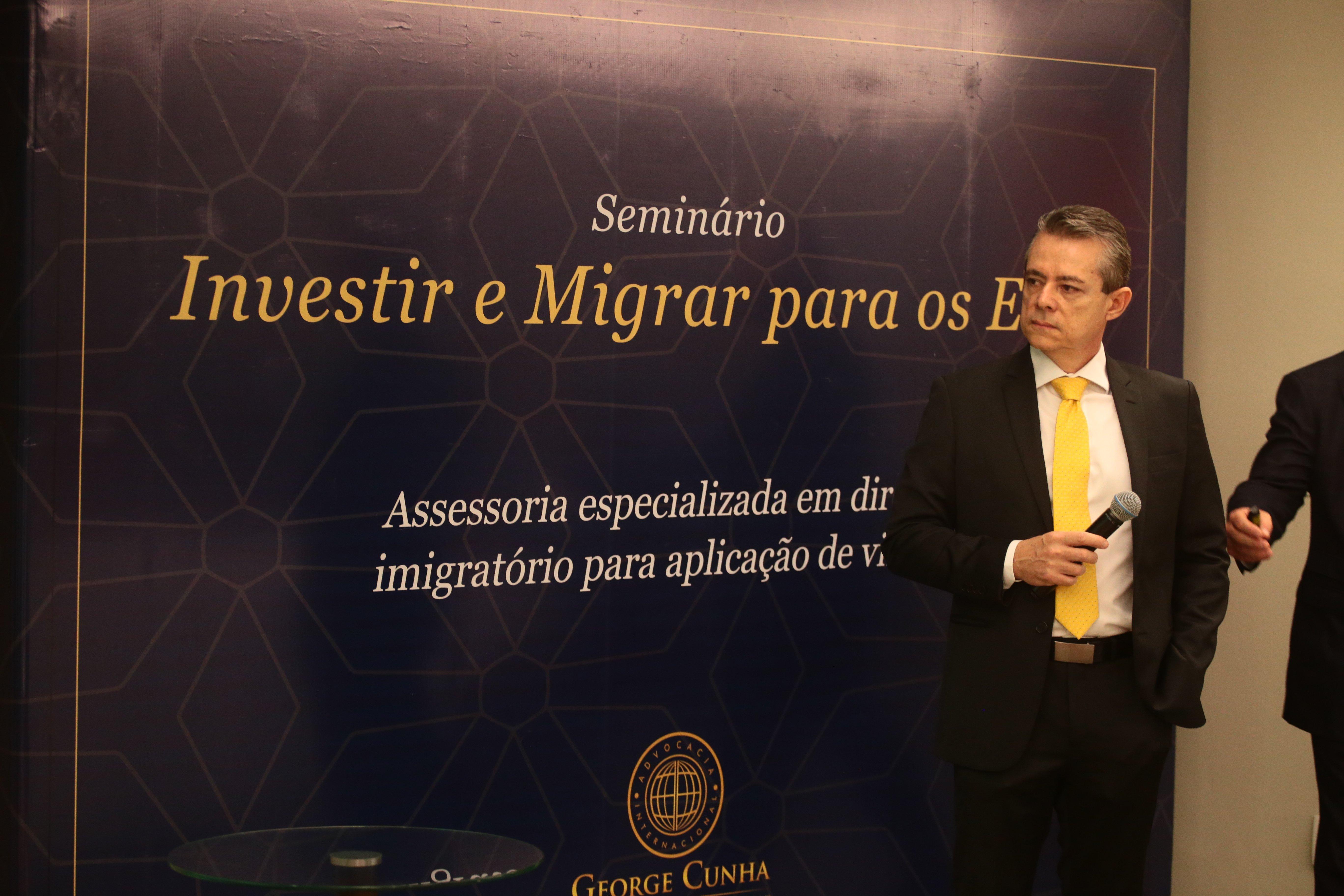 Eventos sobre o visto EB5 realizados em São Paulo, Recife e Fortaleza