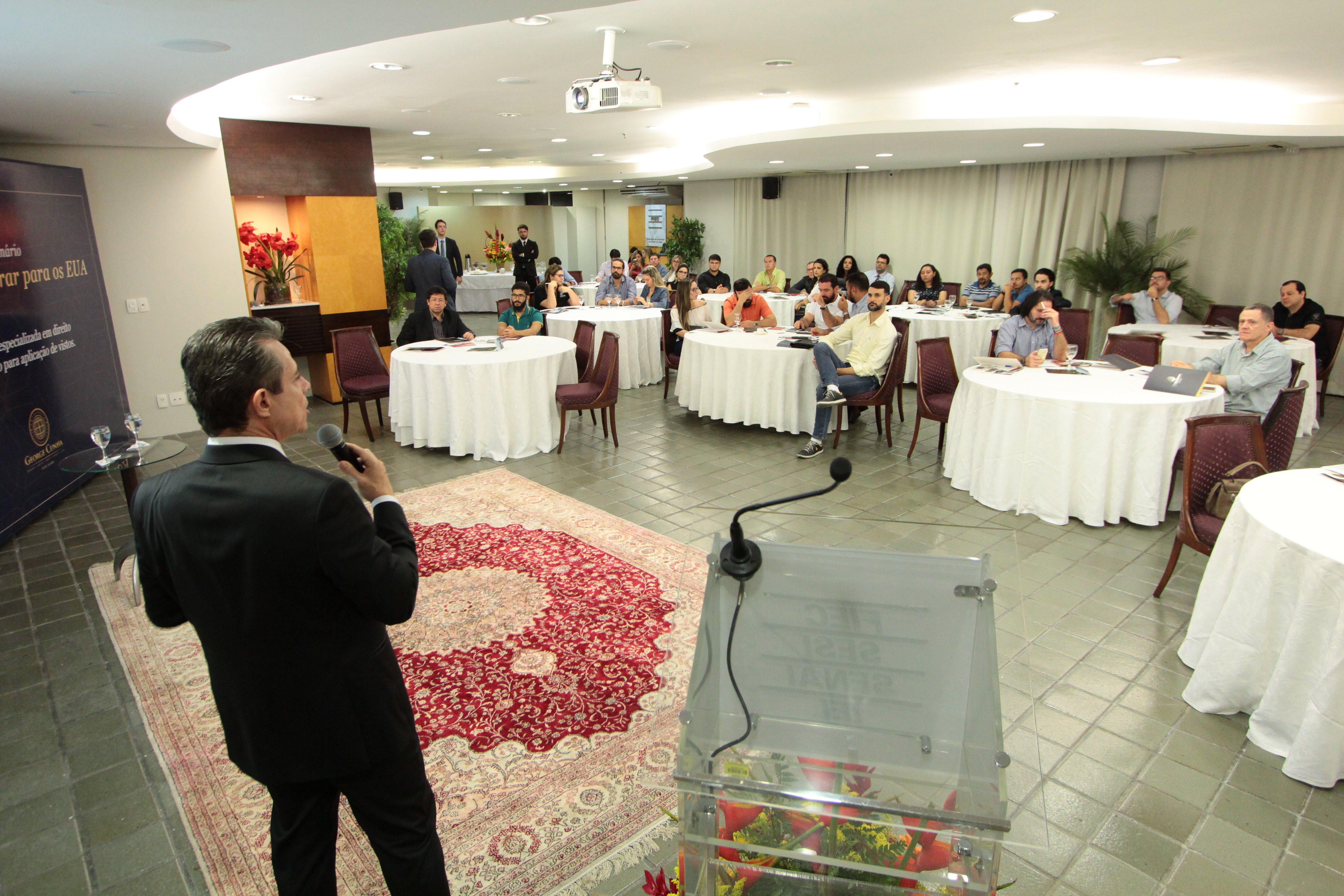 Evento EB5 em Fortaleza