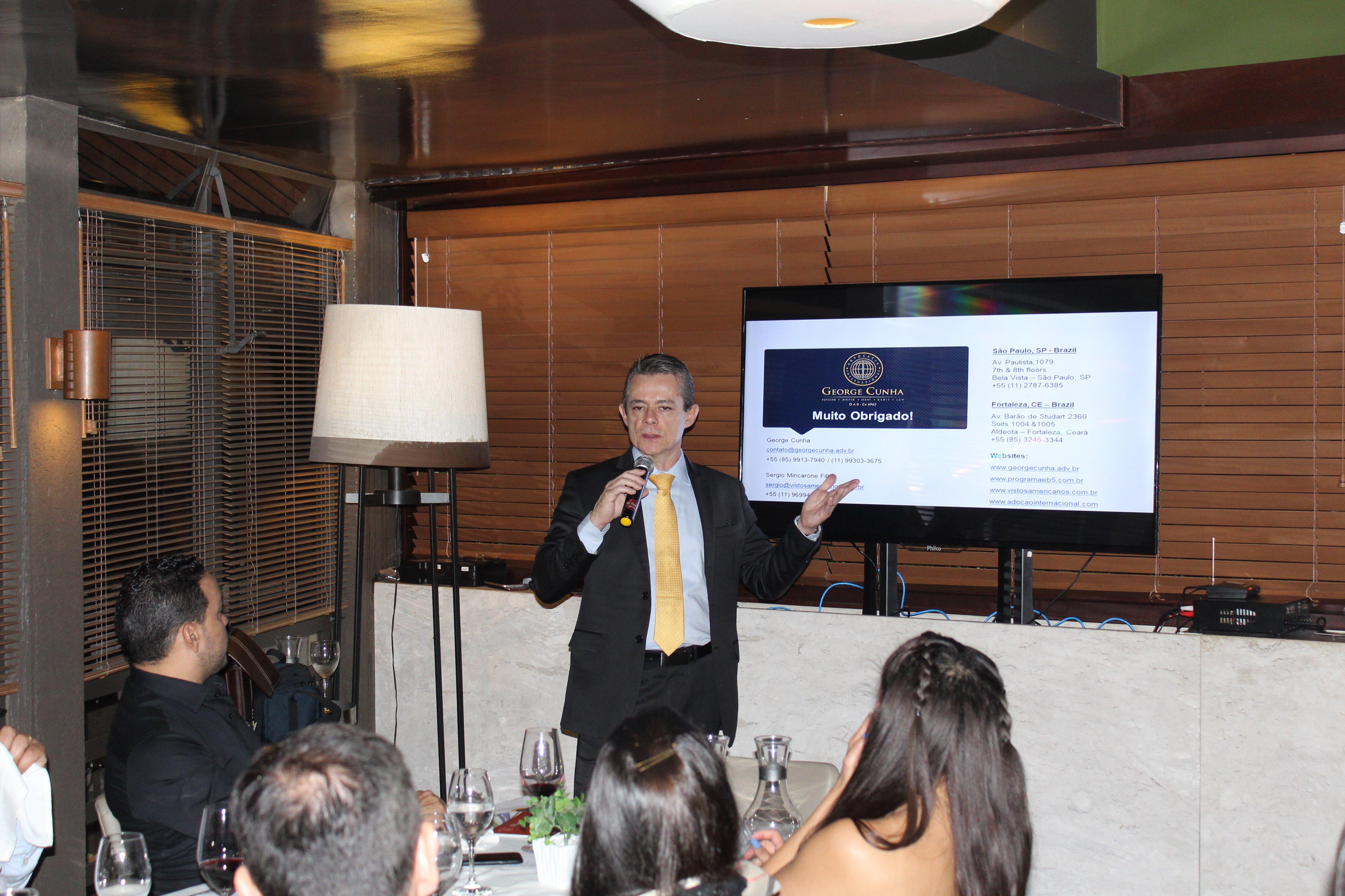 Eventos visto EB5 em São Paulo, Curitiba e Londrina